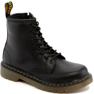 Dr. Martens Kid 1460 Boots Black Sz 1 (Youth)
